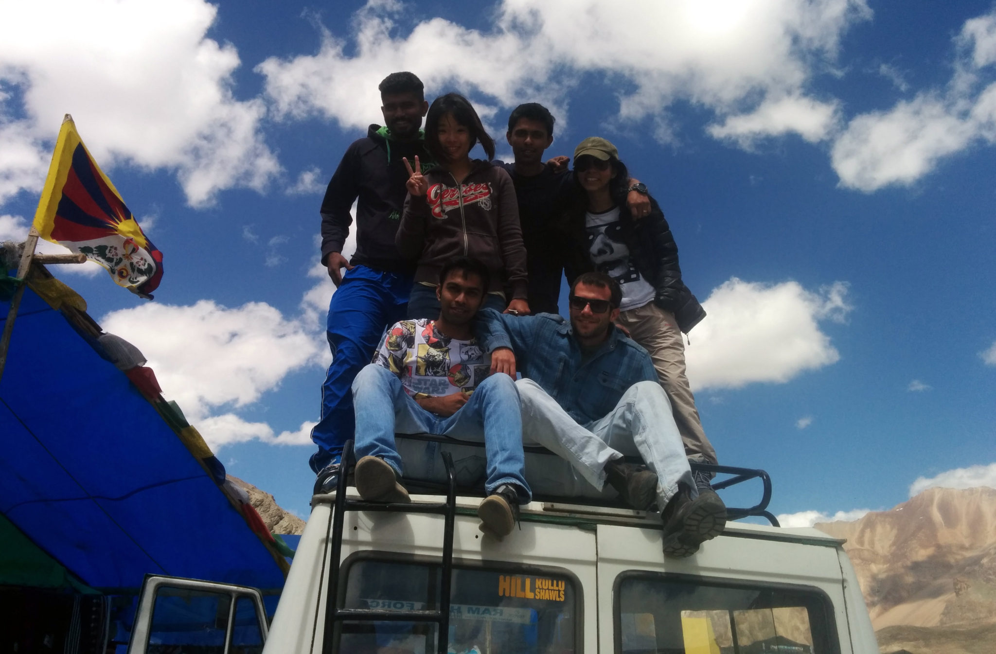 The Defiant Dreamers posing at Bharatpur