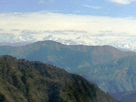 Top View from Kunjapuri Devi Temple