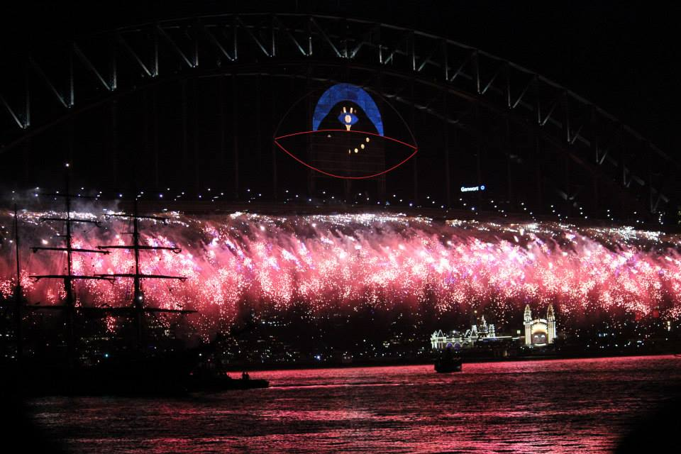 The Famous Sydney Harbour Fireworks